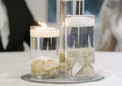 BrightWater Bay Wedding Centerpiece